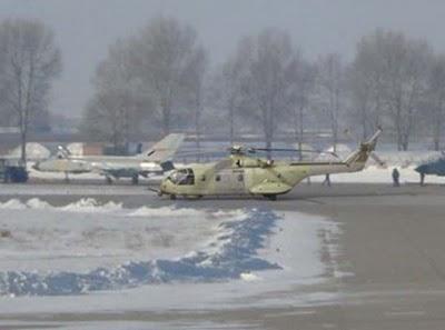 Тяжелый вертолет нового поколения на базе конструкции Ми-26