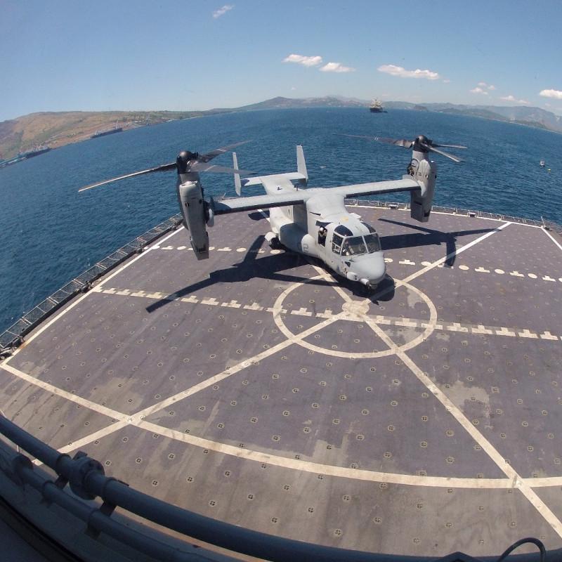 Конвертоплан MV-22 Osprey. Источник: helihub.com.