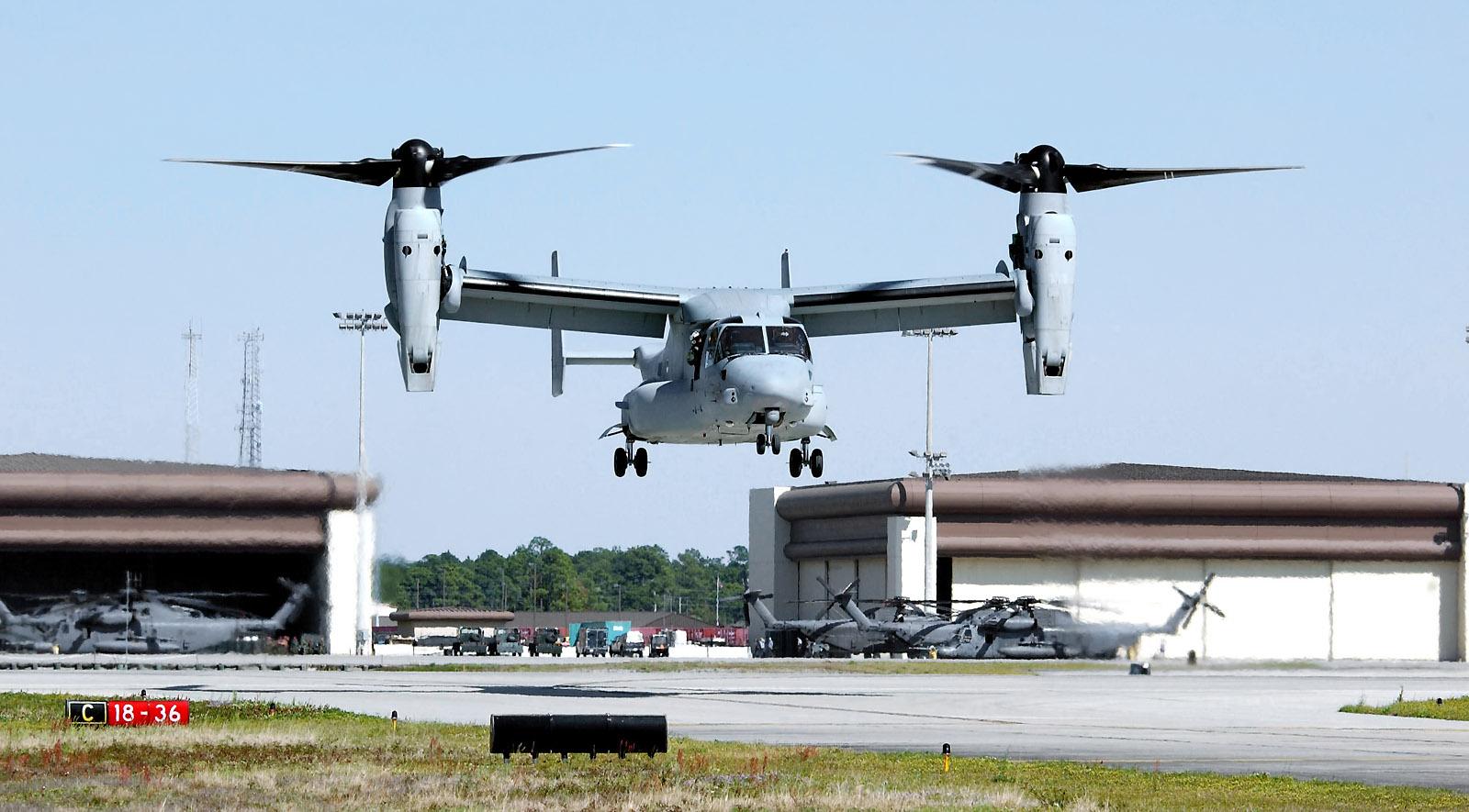 Конвертоплан MV-22 Osprey. Источник: community.warplanes.com.