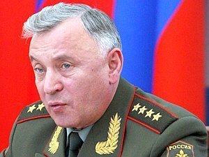 Генерал армии Николай Макаров.