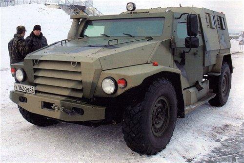 Модульный бронеавтомобиль: ВПК-3927 Волк. Источник: military-press.livejournal.com.