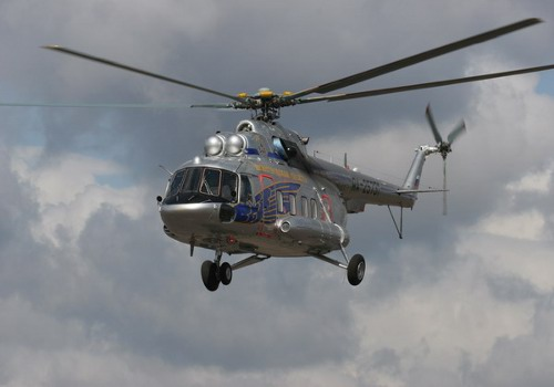 Вертолет Ми-17. Источник: Оружие России