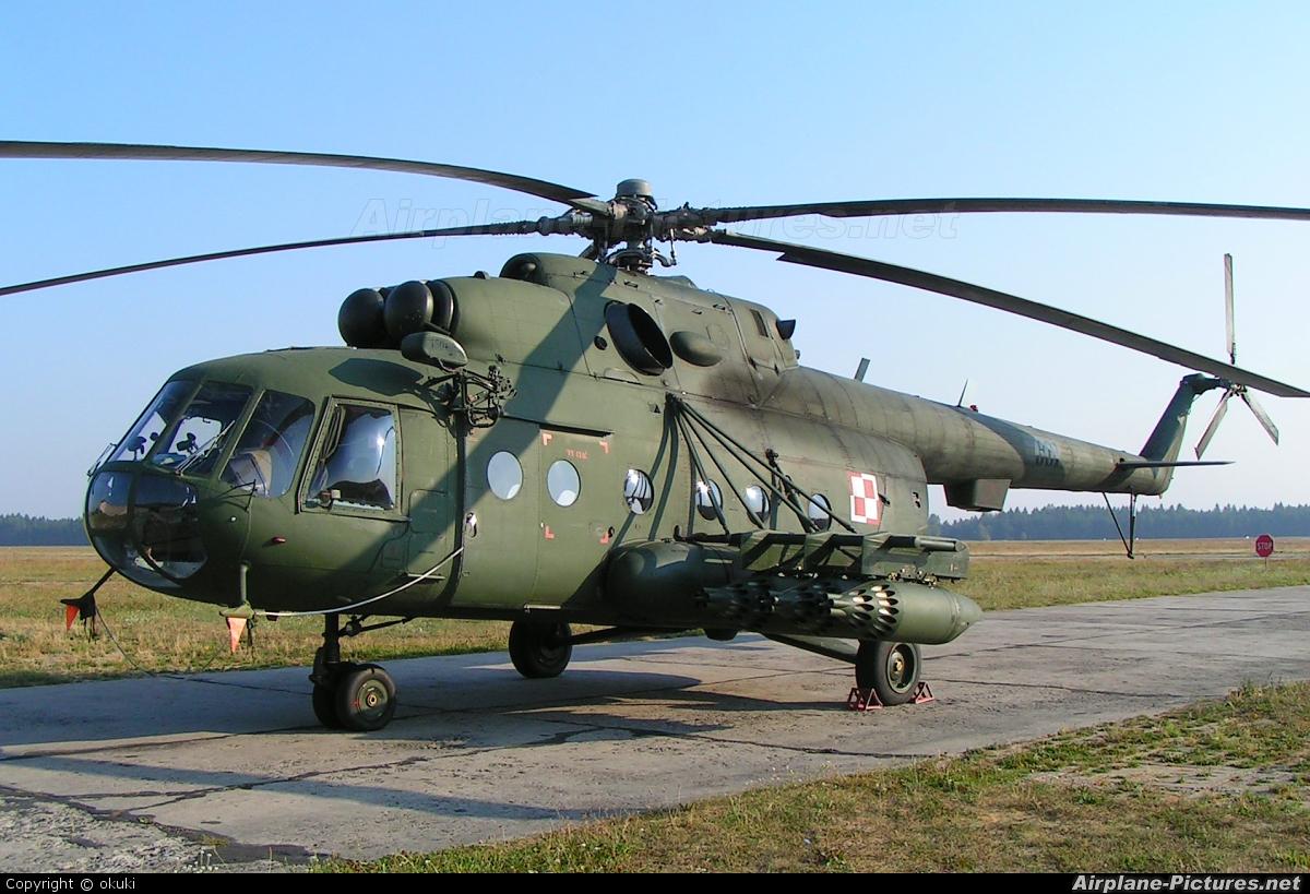 Ми-17 ВВС Польши. Источник: www.airplane-pictures.net