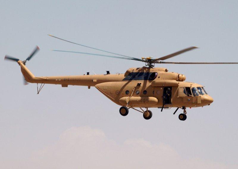 Ми-17-В5 ВВС Канады. Источник: forum.keypublishing.com