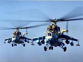 Ми-24 ВВС Украины. Фото с сайта militarists.ru.