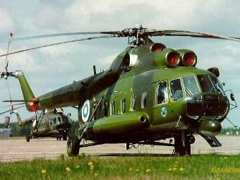 Ми-8 армии Финляндии. Фото с сайта scramble.nl