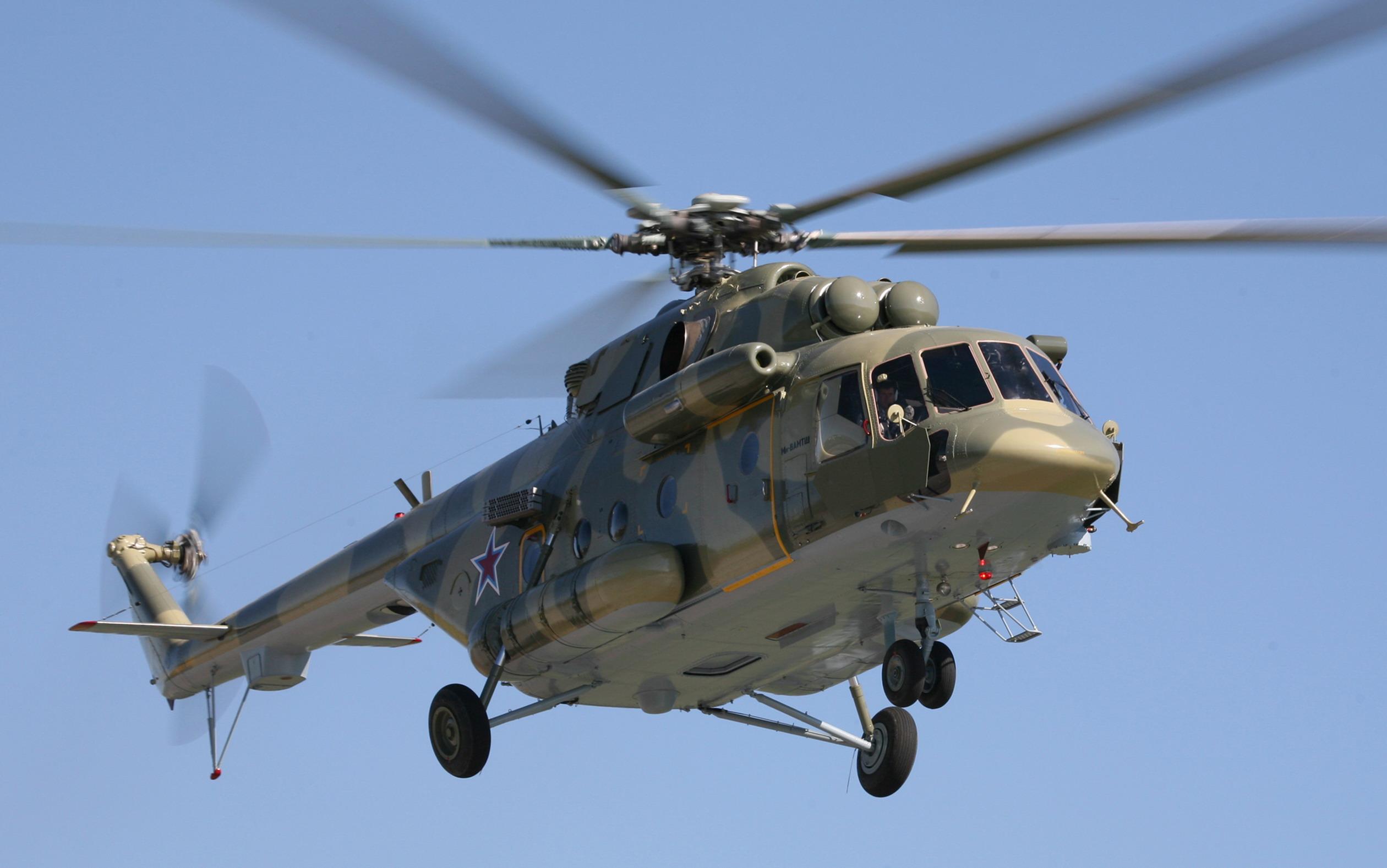 Вертолет Ми-8АМТШ. Источник: telegrafist.org
