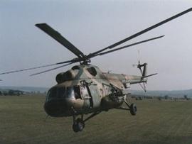 Украинский Ми-8МСБ - модернизированная версия российского вертолета Ми-8Т.