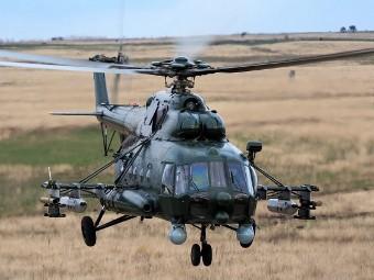 Ми-8АМТШ. Фото с сайта topwar.ru.