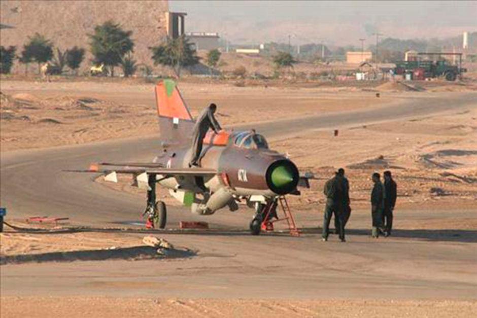 Угнанный сирийский истребитель МиГ-21 в Иордании. Источник: abc.net.au