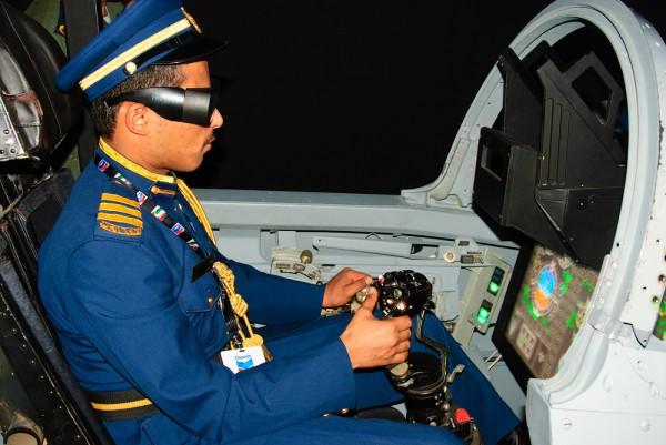 Курсант Академии ВВС ОАЭ из Йемена. Возможно, ему еще летать на МиГ-29СМТ. Фото: П.2.