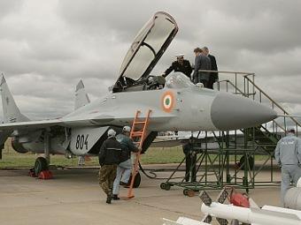 МиГ-29К ВВС Индии. Фото с сайта acig.org