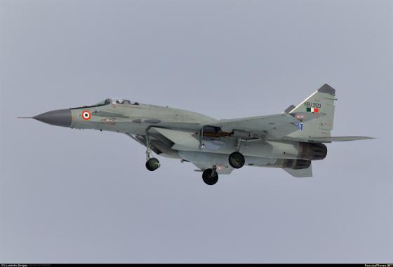 MiG-29UPG_India