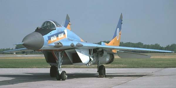 МиГ-29С ВВС Украины. Источник: airwar.ru