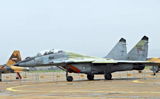 MiG-29_IRIAF