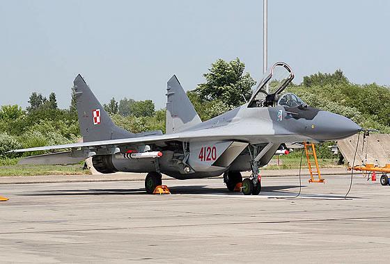 МиГ-29 ВВС Польши. Фото: avia-mir.com <br>