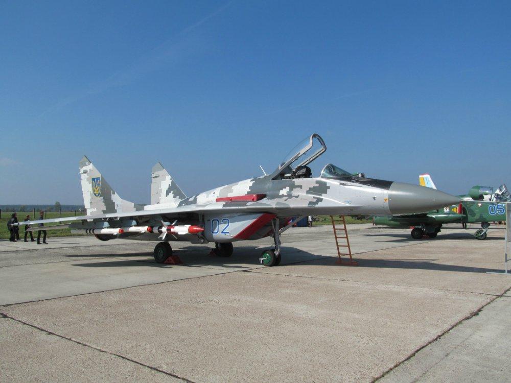 Легкий истребитель МИГ-29 ВВС Украины. Источник: flackelf.livejournal.com