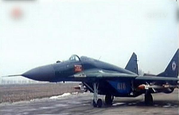 Истребитель МиГ-29 ВВС КНДР.