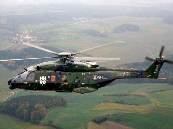 NH-90. Фото с сайта bundeswehr.de.
