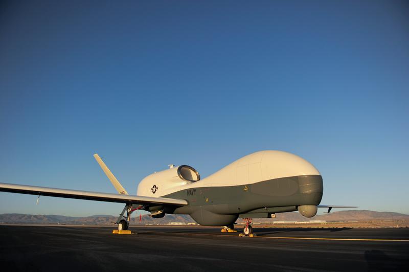 MQ-4C Triton. Источник: unmannedsystemstechnology.com