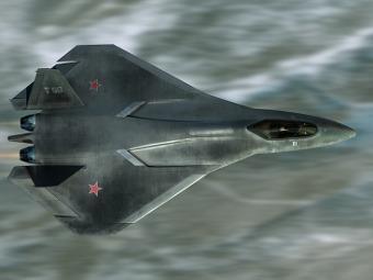 Предполагаемый внешний вид ПАК ФА. Изображение Aleksander Dultsev с сайта duler.ru.