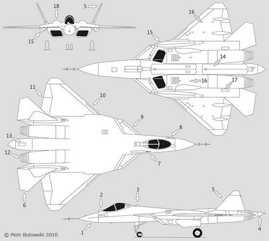на прототипах Т-50.
