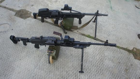 Армейский пулемет «Печенег» (модернизированный пулемет Калашникова (ПК). Фото: завода «Зенит»