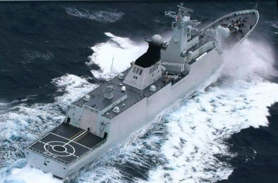 Китайский фрегат