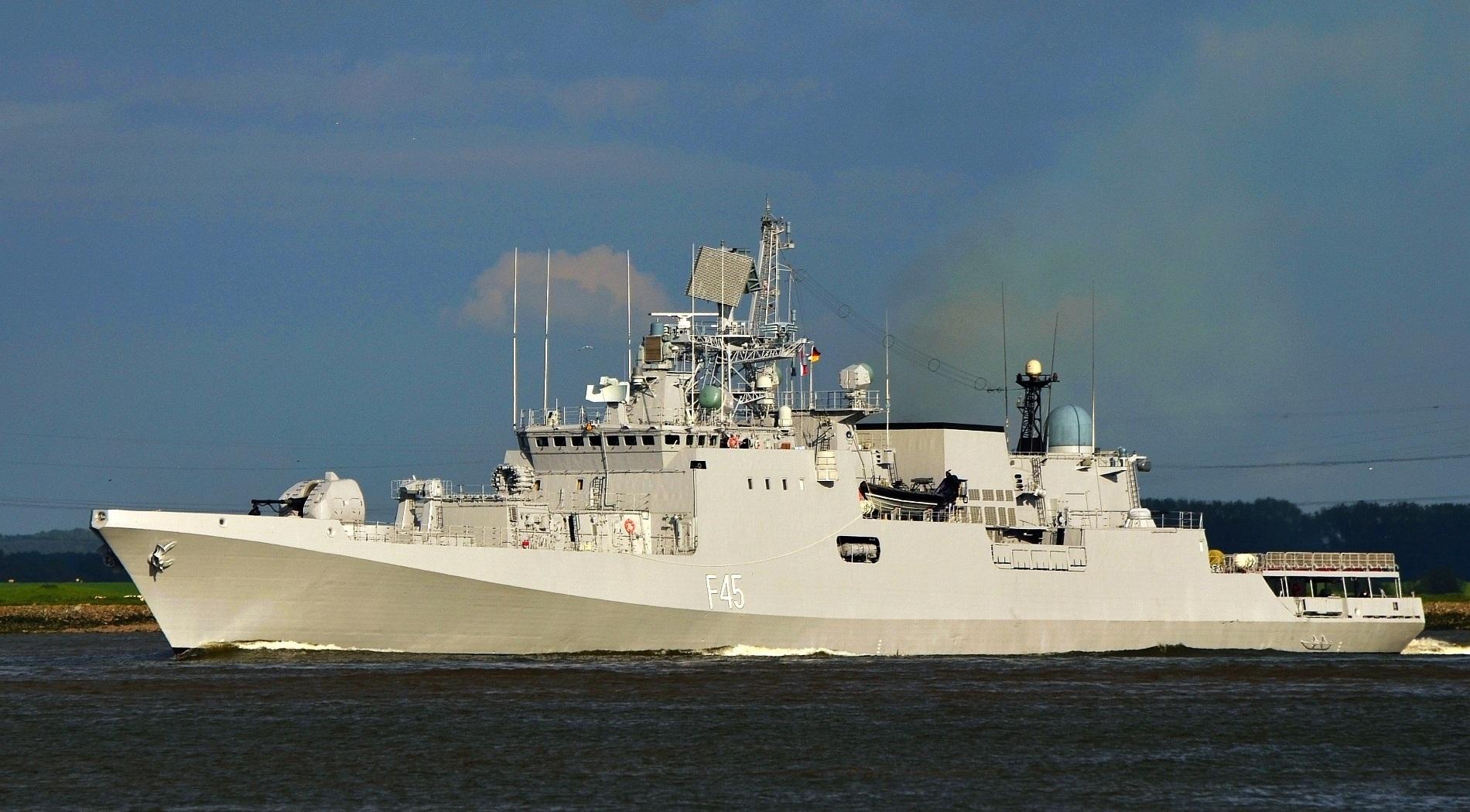 Фрегат ВМС Индии «Teg».  Источник: sdelanounas.ru.