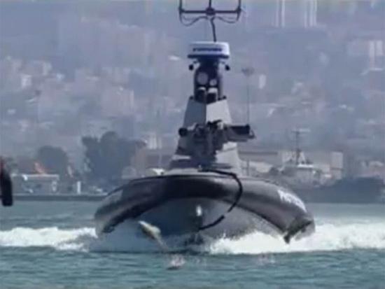 """Роботизированное судно """"Протектор"""" (""""Защитник""""), (Израиль)."""
