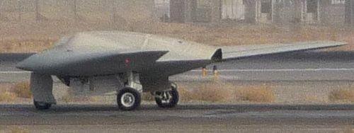 Разведывательный БПЛА RQ-170 Sentinel
