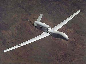 Стратегический разведывательный БПЛА RQ-4 Global Hawk