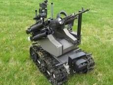 Роботизированный стрелковый комплекс для уничтожения террористов и снайперов, созданный Омским филиалом Общевойсковой академии ВС России.