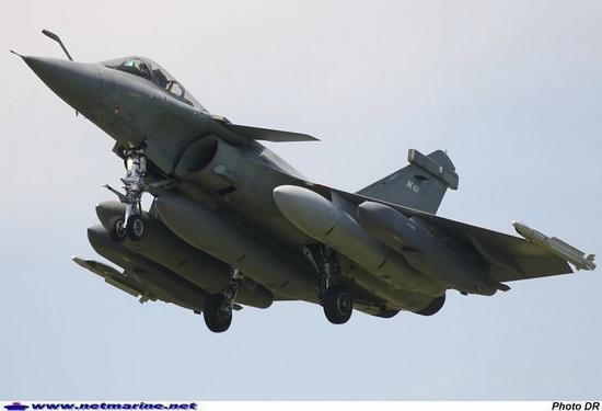 """Французский многоцелевой истребитель поколения 4+ Dassault Rafale (Дассо """"Рафаль"""")"""