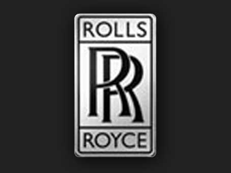 """Эмблема компании """"Роллс-Ройс""""."""