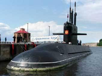 """Подводная лодка проекта 677 """"Санкт-Петербург"""". Фото Юрия Синодова, Лента.ру."""