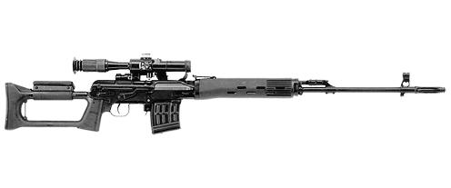 7,62 мм снайперская винтовка Драгунова