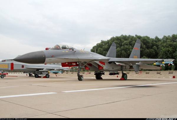 Shenyang J-11B. Источник: Airliners.net.
