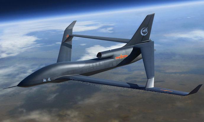 Компьютерная графика китайского высотного БЛА большой дальности Soar Dragon – аналога американского стратегического высотного разведывательного БЛА RQ-4A Global Hawk. Источник: chinesemilitaryreview.blogspot.com.