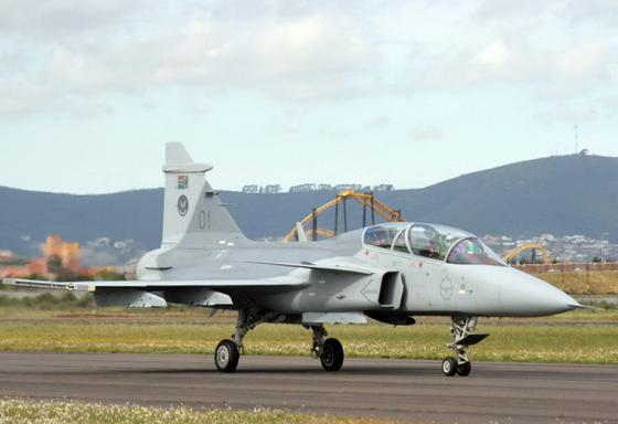South_Africa _SAAB_JAS-39D_Gripen