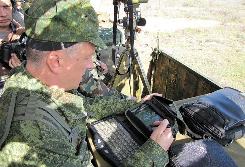 Комплекс тактического звена «Стрелец» для связи и разведки управления. Источник: Военное обозрение