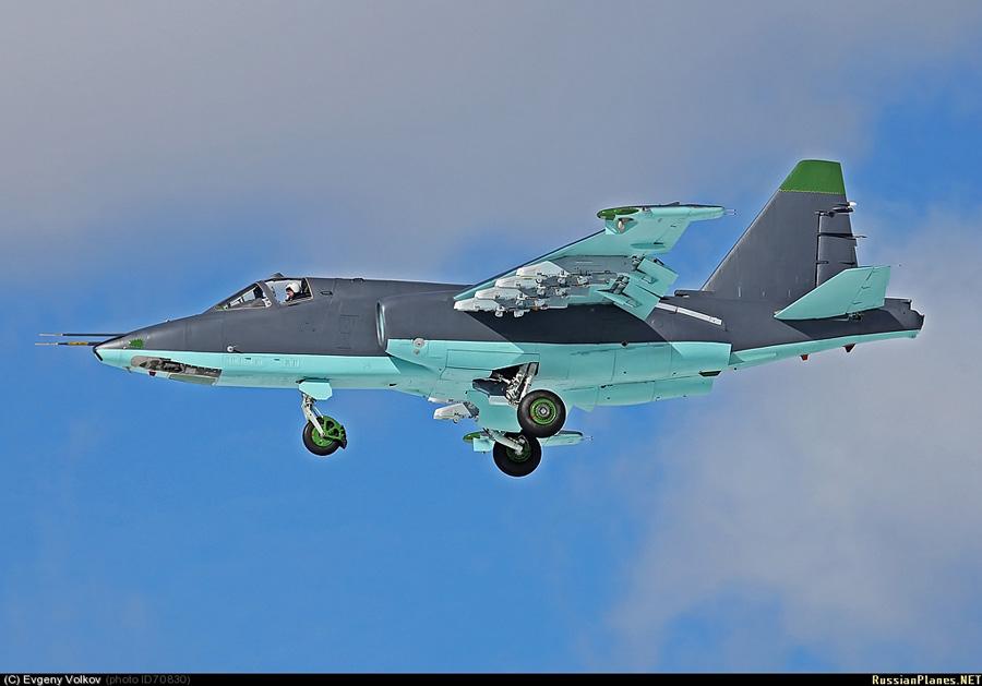 Модернизированный Су-25СМ3 ВВС России. Кубинка, 22.03.2012 (с) Евгений Волков/russianplanes.net