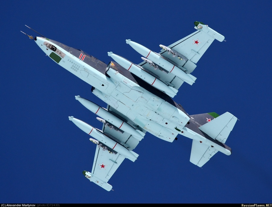 Су-25СМ (Су-25СМ2) ВВС России. Источник: russianplanes.net