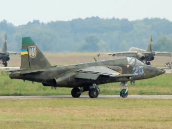 Су-25 ВВС Украины