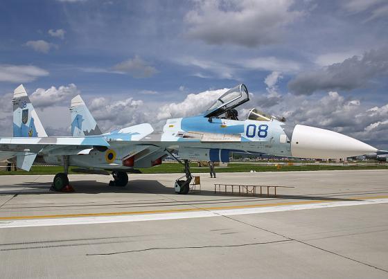 Su-27_Ukrain_Airforce