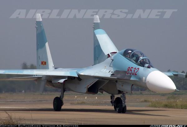 Су-30МК2 ВВС Вьетнама. Bui Tuan Khiem - Vietnam Air Spotters.