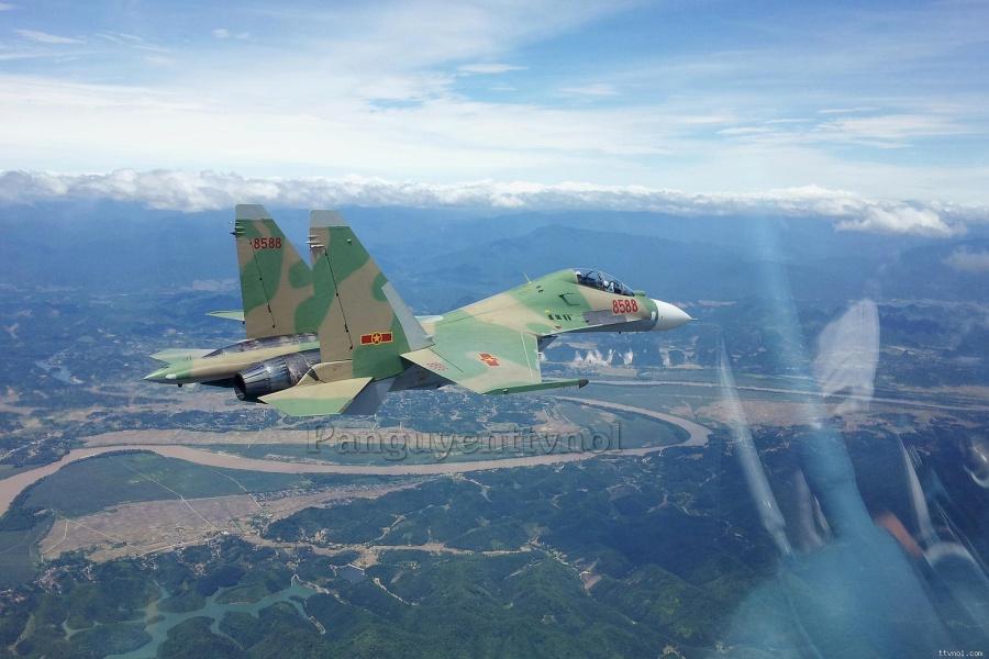 Су-30МК2В ВВС Вьетнама. Источник: militaryphotos.net.