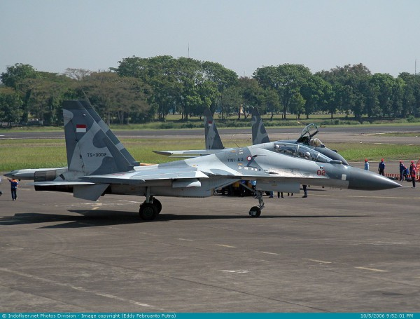 Су-30МК2 ВВС Индонезии. Источник: Eddy Februanto Putra | Indoflyer.net.
