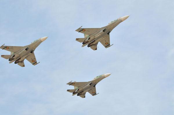 Истребители Су-30МК2 ВВС Уганды. Источник: keypublishing.com<br> .