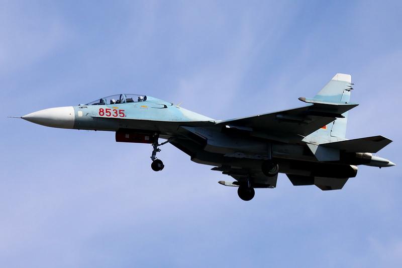 Истребитель Су-30МК2 ВВС Вьетнама. Источник: militaryphotos.net .